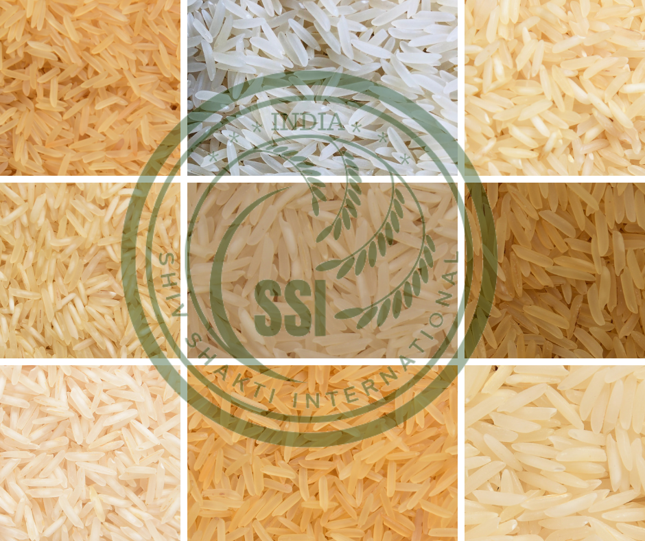 Basmati rice types